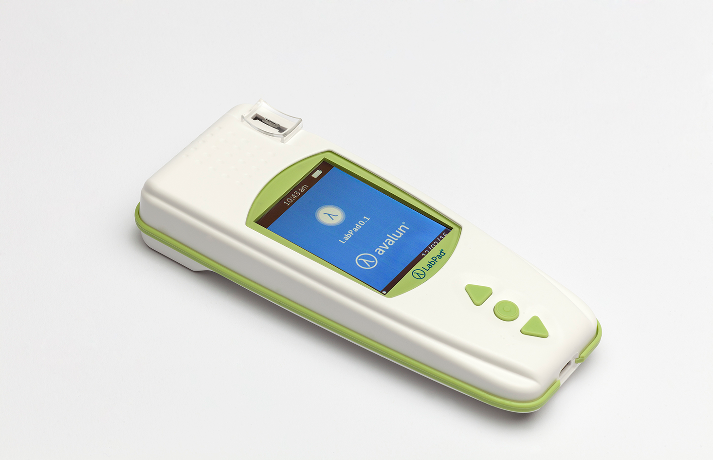 Interface de démarrage de l'appareil de mesure INR LabPad®