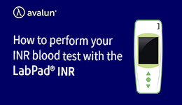 Perform INR blood test with LabPad®