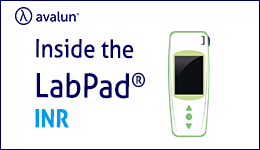 How LabPad® operates to perform an INR autotest